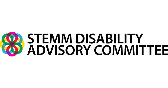 STEMM Disability Advisory Committee logo