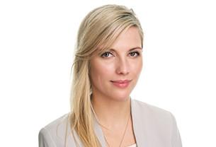 Portrait photo of Sandra RSci against a plain white background