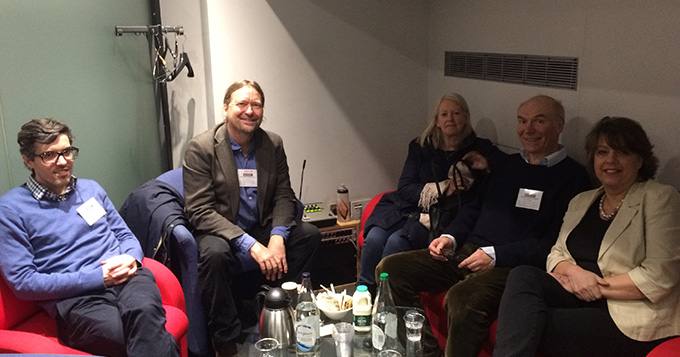 Waiting in the green room for the Moral Maze - March 2016