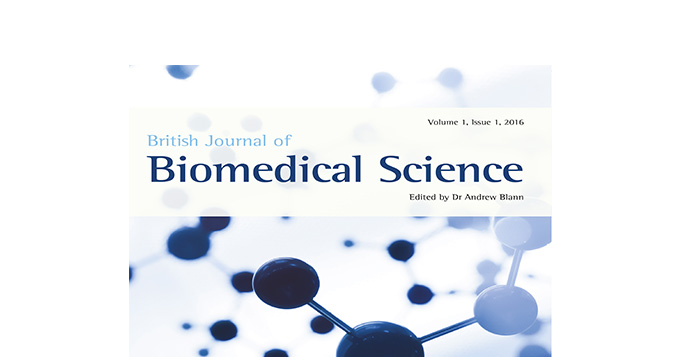 British Journal of Biomedical Science Edited by Dr Andrew Blann