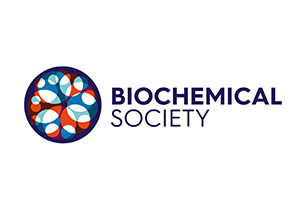 Logo of the Biochemical Society with words 'Biochemical Society'