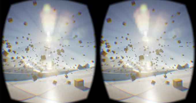 Image captured from an Oculus Rift DK2