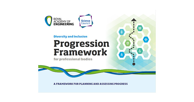 Royal Academy of Engineering and Science Council Diversity and Inclusion Progression Framework for professional bodies