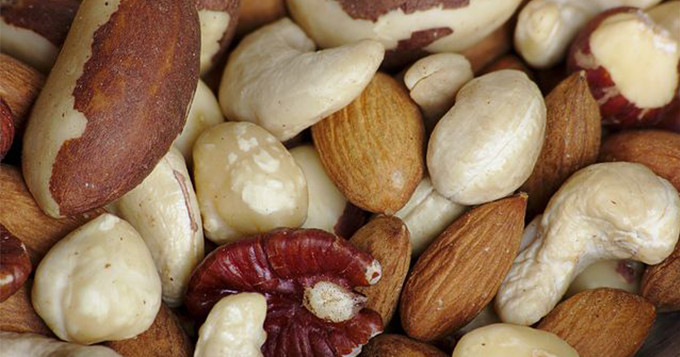 A variety of nuts. Image credit: Sage Ross, Wikimedia