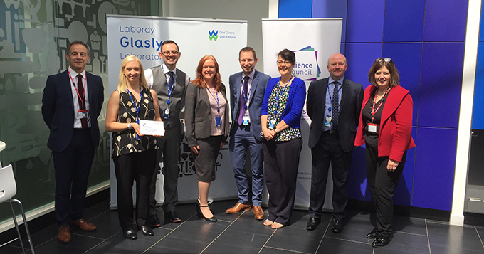 Welsh Water Employer Champion launch event