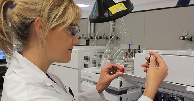 Welsh Water scientist