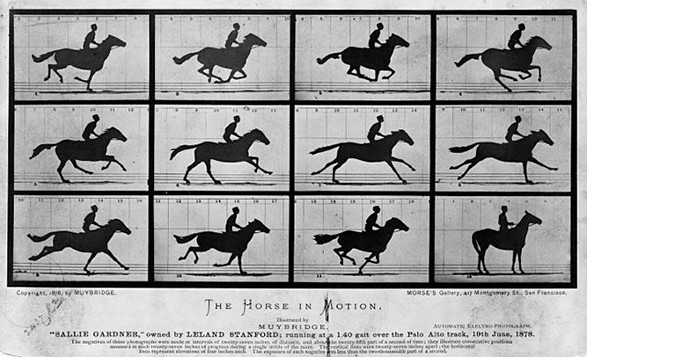 Artwork by Eadweard Muybridge – Provided directly by Library of Congress Prints and Photographs Division.