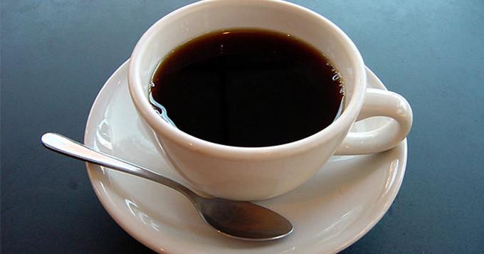 A cup of coffee. Credit: Julius Schorzman, via Wikimedia.