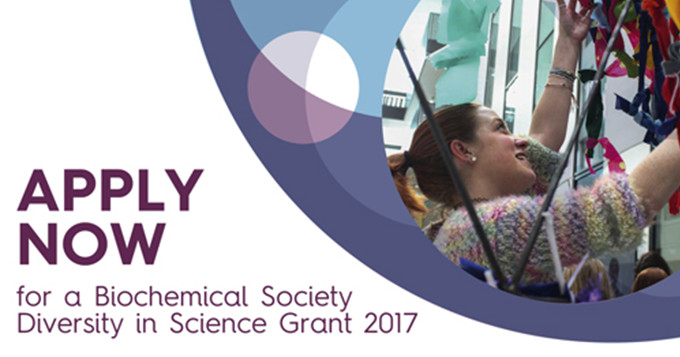 Biochemical Society Diversity in Science Grant