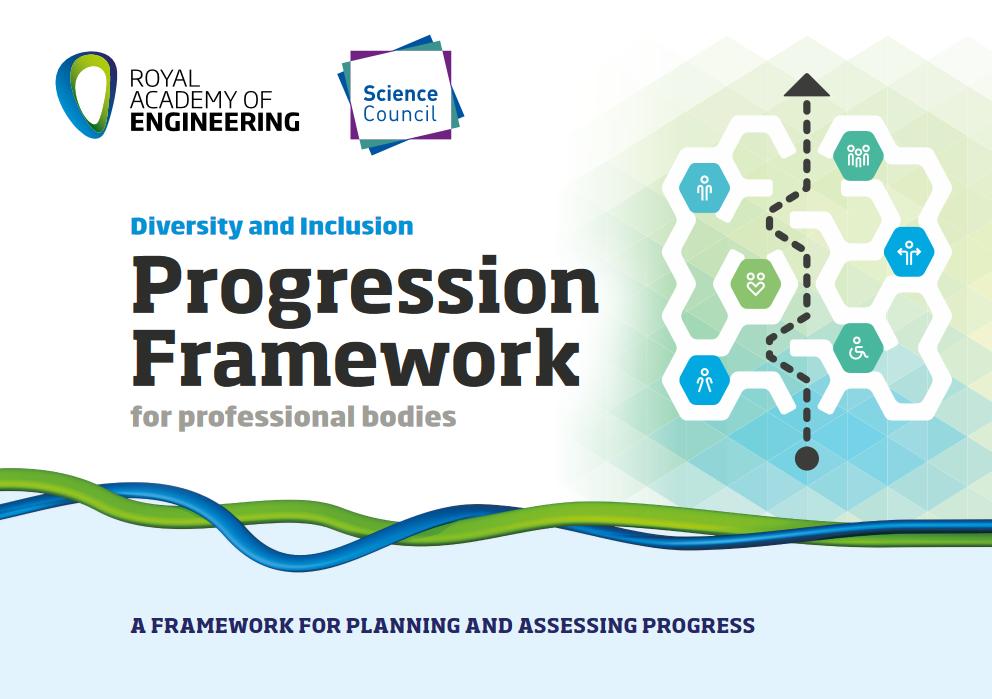 Diversity Progression Framework Booklet front page