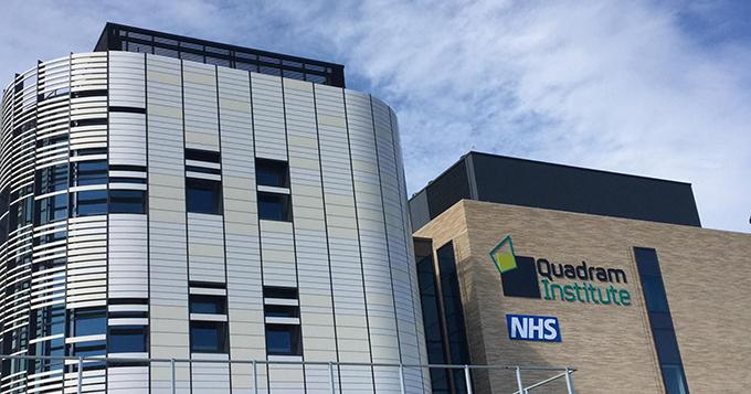 Quadrum Institute building